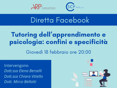 Tutoring dell'apprendimento e psicologia: confini e specificità