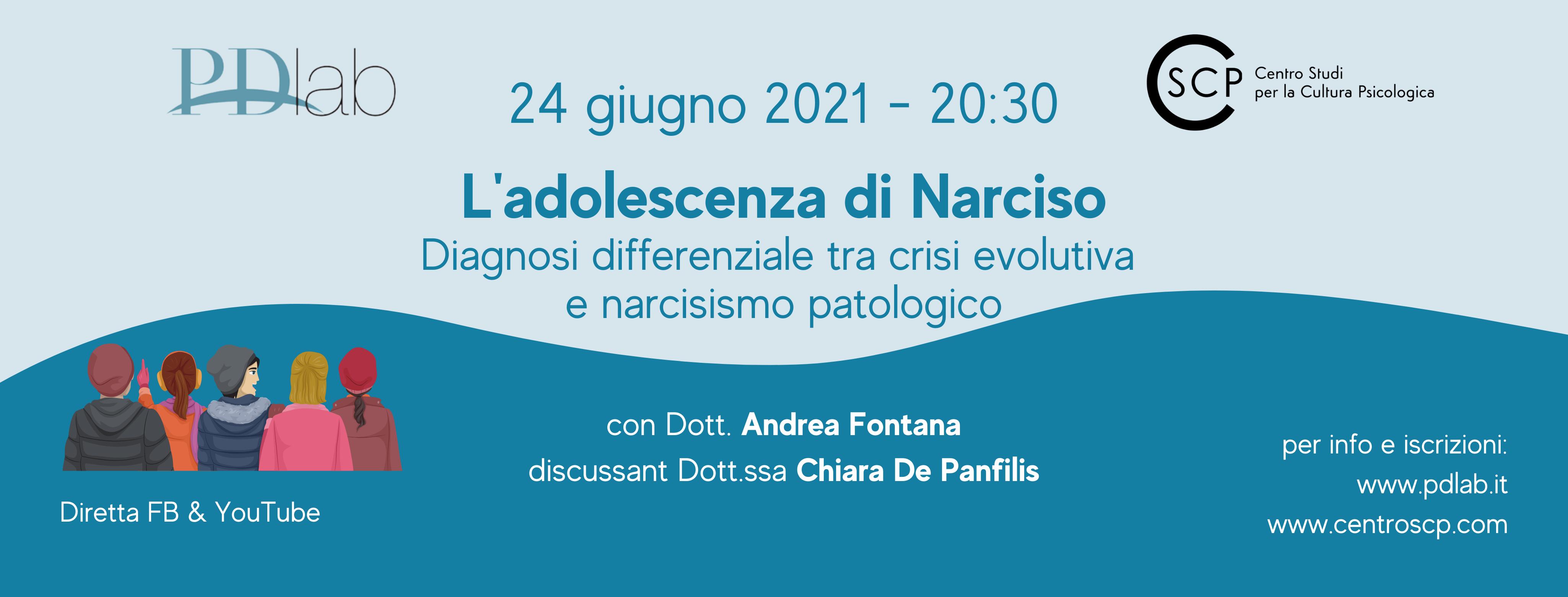 L'adolescenza di Narciso – Diagnosi differenziale tra crisi evolutiva e narcisismo patologico